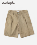 COVERNAT X MARK GONZALES CHINO SHORTS BEIGE