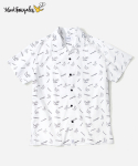 커버낫() COVERNAT X MARK GONZALES PATTERN SHIRTS WHITE