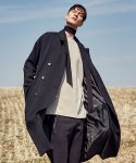 얀스토어(YAN STORE) SMOOTH DOUBLE COAT_BLACK