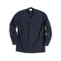 V-NECK SHIRT : NAVY
