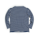 에스티디 스탠다드() STRIPE WIDE-NECK KNIT : BLUE