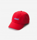 브라운브레스(BROWNBREATH) CHIIIIILL CURVED CAP - RED