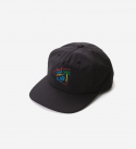 브라운브레스(BROWNBREATH) LBC NEON 5 PANNEL CAP - BLACK