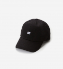 브라운브레스(BROWNBREATH) TAGGING CURVED CAP - BLACK