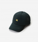 브라운브레스(BROWNBREATH) TAGGING CURVED CAP - GREEN