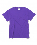 디스이즈네버댓(thisisneverthat) Reflective SP-Logo Tee Purple