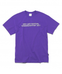 디스이즈네버댓(thisisneverthat) 9317 Tee Purple