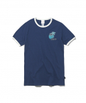 디스이즈네버댓(thisisneverthat) W Palm Tree Tee Navy