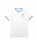 디스이즈네버댓(thisisneverthat) W Palm Tree Tee White/Blue