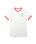 디스이즈네버댓(thisisneverthat) W Palm Tree Tee White/Red