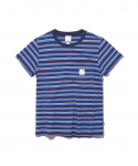 디스이즈네버댓(thisisneverthat) W Pocket Tee Blue
