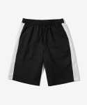 BAND LINE SHORTS BLACK