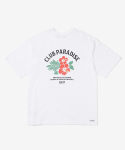 레이어 유니온(LAYER UNION) CP FLOWER S/S TEE WHITE