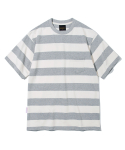 유니폼브릿지() 17ss 10s heavyweight stripe tee grey