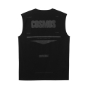 제너럴 아이디어(GENERAL IDEA) G7D05053 - COSMOS SLEEVELESS T-SHIRT [BLACK]