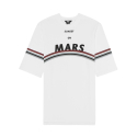 제너럴 아이디어(GENERAL IDEA) G7D05056 - ROUND MARS T-SHIRT [WHITE]