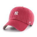 [47brand] NEW YORK YANKEES CARDINAL ABATE 47 CLEAN UP/MLB모자