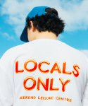위캔더스(WKNDRS) LOCALS ONLY TEE (WHITE)