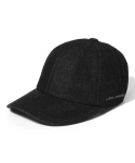라이풀() DENIM BENDING CAP washed black