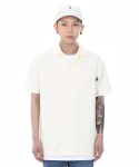 쟈니웨스트() Workfit Half Shirts (Cream)