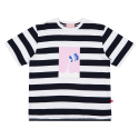 MILK SST STRIPE NAVY