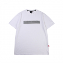 캉골(KANGOL) Embossed Short Sleeves T 2558 White