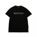 캉골() Embossed Short Sleeves T 2558 Black