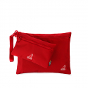 캉골(KANGOL) Mix-Tape Pouch Bags 5017 RED
