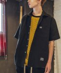 필루미네이트() UNISEX Cool Linen Shirt-Black