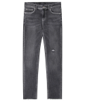 모디파이드(MODIFIED) M#1281 beyond grey cutted crop jeans