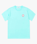 해브 어 굿 타임(HAVE A GOOD TIME) Dart Logo S/S Tee - Aqua