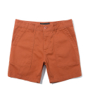 유니폼브릿지(UNIFORM BRIDGE) 5inch cotton short pants orange