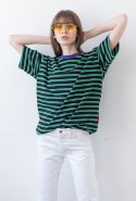 에센시(ESSENSI) [ESSENSI STUDIO] STRIPE SHORT SLEEVE TSHIRT (ES1HMUT502A)