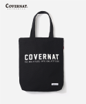 커버낫(COVERNAT) FULLLOGO ECO BAG BLACK