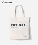 커버낫(COVERNAT) FULLLOGO ECO BAG IVORY