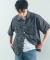 유니스디자인(UNIIS DESIGN) CHECK HALF SHIRT