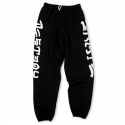 쓰레셔(THRASHER) Skate And Destroy Sweatpants - Black