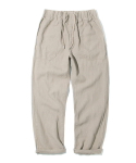 17ss linen fatigue pants beige