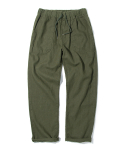 17ss linen fatigue pants khaki