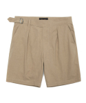 유니폼브릿지(UNIFORM BRIDGE) gurkha shorts beige