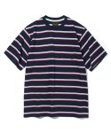 유니폼브릿지(UNIFORM BRIDGE) 10s heavyweight vintage stripe tee navy