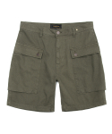 유니폼브릿지(UNIFORM BRIDGE) HBT p44 short pants khaki