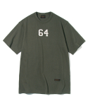 유니폼브릿지(UNIFORM BRIDGE) 64 patch tee khaki