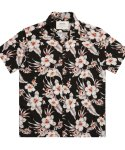 Hibiscus Shirts- Black
