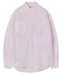 모디파이드() M#1284 pinstripe pocket shirt