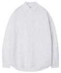 모디파이드() M#1282 white window check shirt