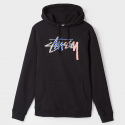 스투시() 17 SP STUSSY CHECKER STOCK HOOD BLAC