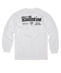 OG LOGO LONG SLEEVE T-SHIRT(WHT)