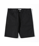 제로() Pliable Fatigue shorts (Black)