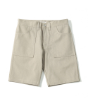 제로() Pliable Fatigue shorts (Beige)
